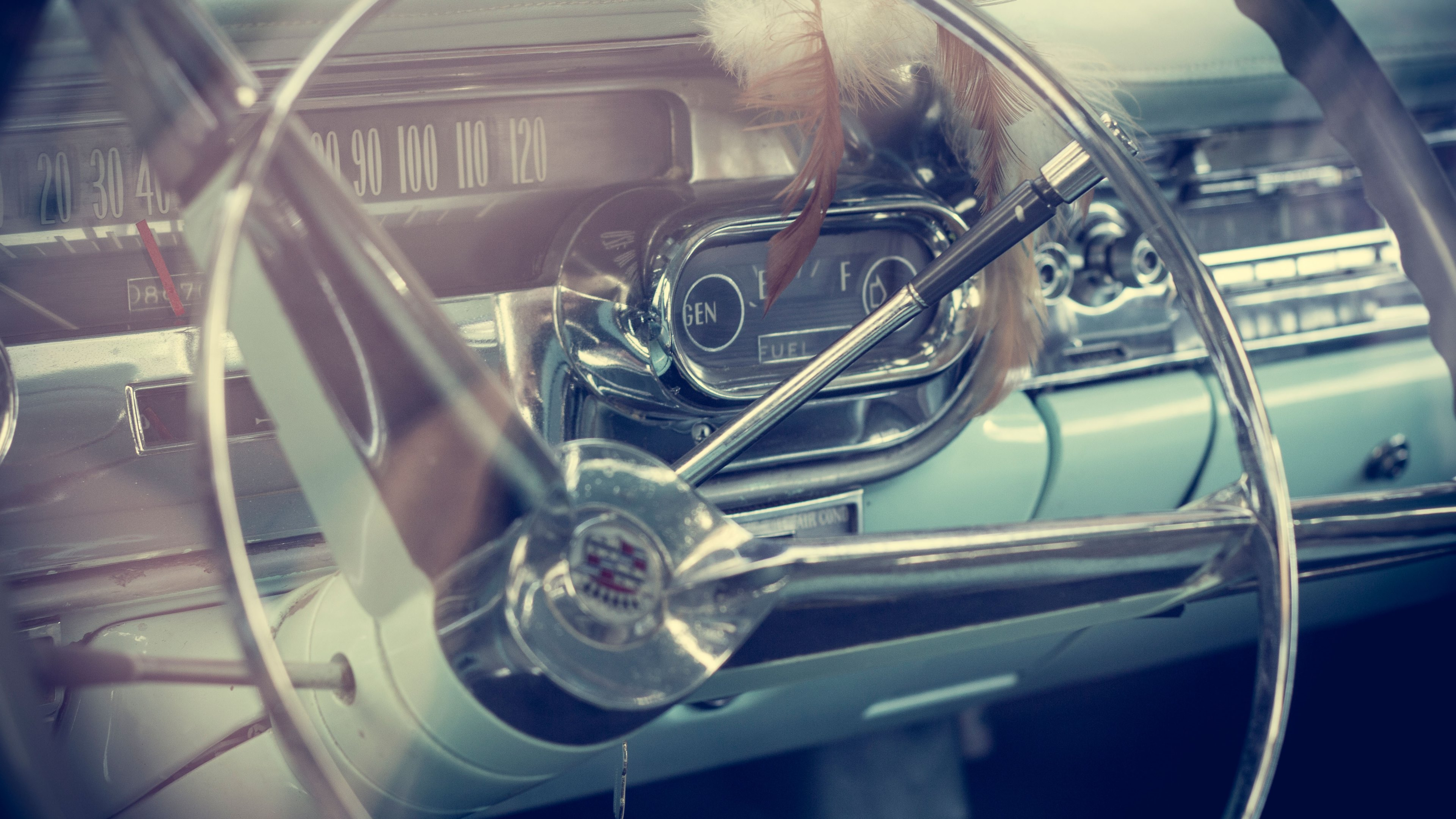 Vintage Car Model Inside Cadillac 4k Wallpaper Scrap And Tow